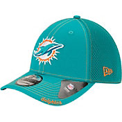 New Era Men's Miami Dolphins 39Thirty Neo Flex Aqua Hat