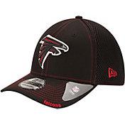 New Era Men's Atlanta Falcons 39Thirty Neo Flex Black Hat