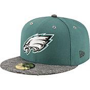 New Era Men's Philadelphia Eagles 2016 NFL Draft 59Fifty Green Fitted Hat
