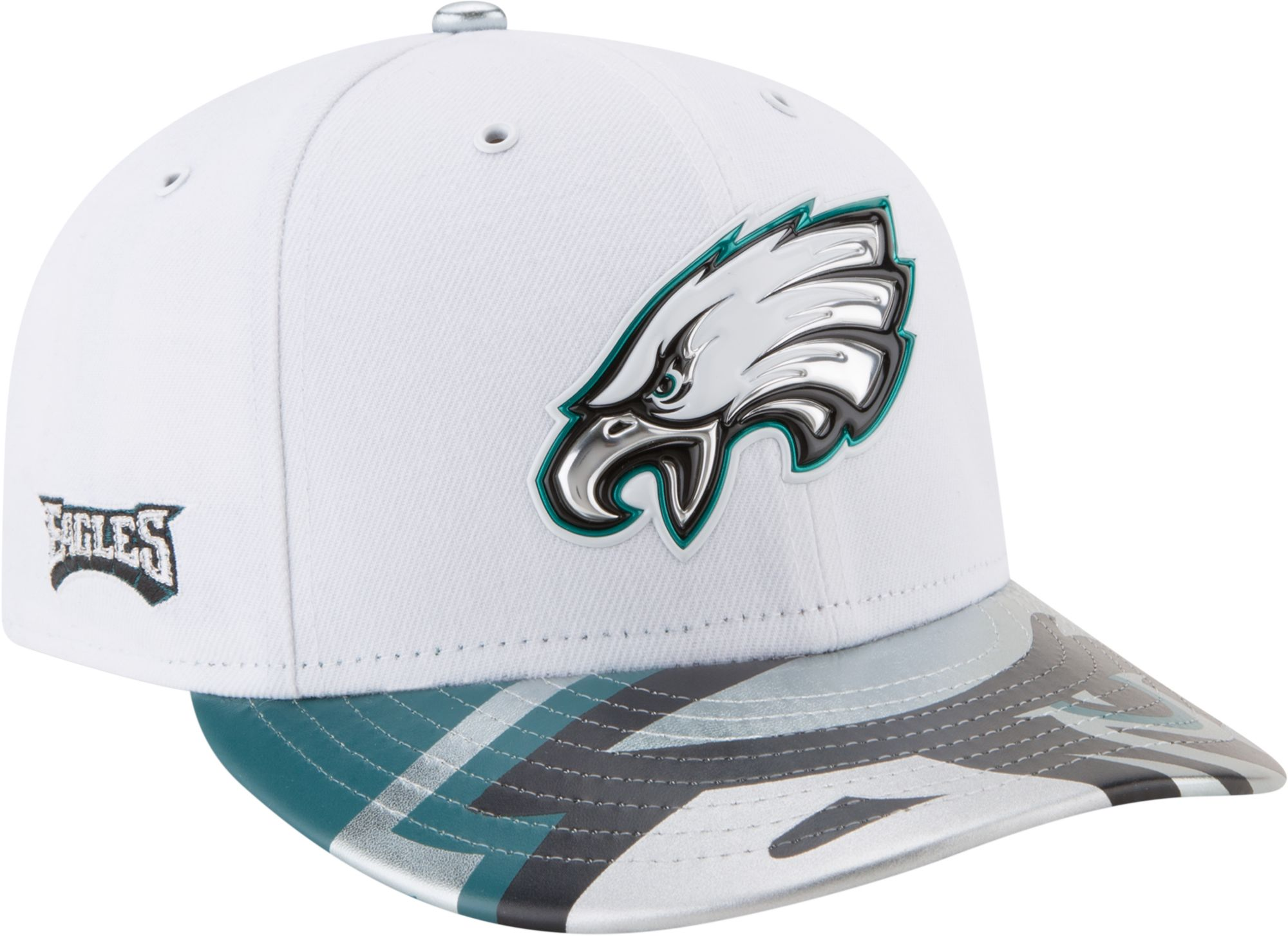 newest 5be3d 2ee34 ... new era mens philadelphia eagles 2017 nfl draft 59fifty fitted white hat  ...