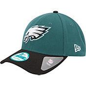 New Era Men's Philadelphia Eagles League 9Forty Adjustable Green Hat