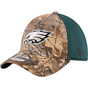 New Era Men's Philadelphia Eagles Real Tree Neo 39Thirty Camouflage Flex Hat