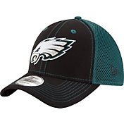 New Era Men's Philadelphia Eagles Team Front Neo 39Thirty Flex Hat