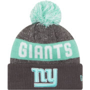 New Era New York Giants Sport Clear Mint Knit Beanie