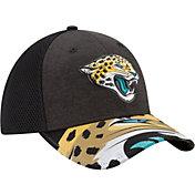 New Era Men's Jacksonville Jaguars 2017 NFL Draft 39Thirty Adjustable Black Hat
