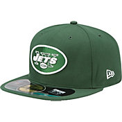 New Era Men's New York Jets Sideline Authentic 59Fifty Green Fitted Hat