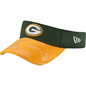 New Era Men's Green Bay Packers Sideline 2016 Green/Gold Visor
