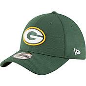New Era Men's Green Bay Packers Sideline 2016 Tech 39Thirty Flex Hat
