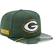 New Era Men's Green Bay Packers 2017 NFL Draft 9Fifty Adjustable Green Hat
