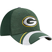New Era Men's Green Bay Packers 2017 NFL Draft 39Thirty Adjustable Green Hat