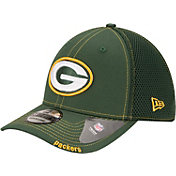 New Era Men's Green Bay Packers 39Thirty Neoflex Green Stretch Fit Hat