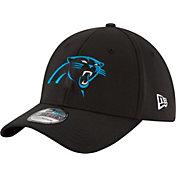 New Era Men's Carolina Panthers 39Thirty Black Flex Hat