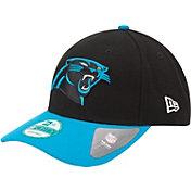 New Era Men's Carolina Panthers League 9Forty Adjustable Blue Hat