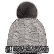 New Era Women's Carolina Panthers Cozy Team Grey Cuffed Knit Hat