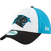 New Era Men's Carolina Panthers Perfect Block White 9Forty Adjustable Hat