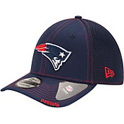New Era Men's New England Patriots 39Thirty Neoflex Navy Stretch Fit Hat