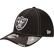 New Era Men's Oakland Raiders 39Thirty Neo Flex Black Hat