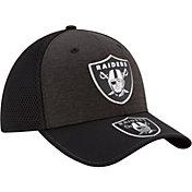 New Era Men's Oakland Raiders 2017 NFL Draft 39Thirty Adjustable Black Hat