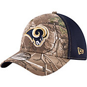 New Era Men's Los Angeles Rams Real Tree Neo 39Thirty Camouflage Flex Hat