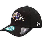 New Era Men's Baltimore Ravens League 9Forty Adjustable Black Hat