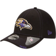 New Era Men's Baltimore Ravens 39Thirty Neoflex Black Stretch Fit Hat