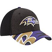 New Era Men's Baltimore Ravens 2017 NFL Draft 39Thirty Adjustable Black Hat