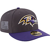New Era Men's Baltimore Ravens Crafted in America 59Fifty Graphite Fitted Hat