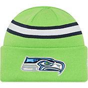 New Era Men's Seattle Seahawks Color Rush 2016 On-Field Knit Hat