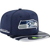 New Era Men's Seattle Seahawks 2017 NFL Draft 9Fifty Adjustable Navy Hat