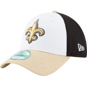New Era Men's New Orleans Saints Perfect Block White 9Forty Adjustable Hat