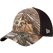 New Era Men's New Orleans Saints Real Tree Neo 39Thirty Camouflage Flex Hat