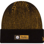 New Era Men's Pittsburgh Steelers Sideline 2016 Tech Knit Hat
