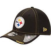 New Era Men's Pittsburgh Steelers 39Thirty Neo Flex Black Hat