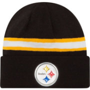 New Era Men's Pittsburgh Steelers Color Rush 2016 On-Field Knit Hat
