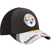 New Era Men's Pittsburgh Steelers 2017 NFL Draft 39Thirty Adjustable Black Hat