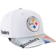 New Era Men's Pittsburgh Steelers 2017 NFL Draft 59Fifty Fitted White Hat