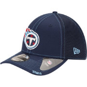 New Era Men's Tennessee Titans 39Thirty Neoflex Navy Stretch Fit Hat