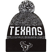New Era Men's Houston Texans Sport Black Knit Beanie