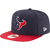 New Era Men's Houston Texans Sideline 2016 9Fifty On-Field Adjustable Hat