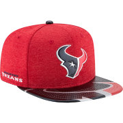 New Era Men's Houston Texans 2017 NFL Draft 9Fifty Adjustable Red Hat