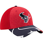 New Era Men's Houston Texans 2017 NFL Draft 39Thirty Adjustable Red Hat