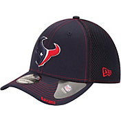 New Era Men's Houston Texans Neo 39Thirty Navy Stretch Fit Hat