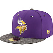 New Era Men's Minnesota Vikings 2016 NFL Draft 59Fifty Purple Fitted Hat