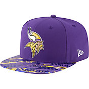 New Era Men's Minnesota Vikings Color Rush 2016 On-Field 9Fifty Adjustable Hat