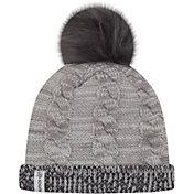 New Era Women's Minnesota Vikings Cozy Team Grey Cuffed Knit Hat