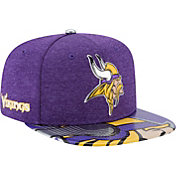 New Era Men's Minnesota Vikings 2017 NFL Draft 9Fifty Adjustable Purple Hat