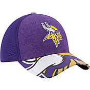 New Era Men's Minnesota Vikings 2017 NFL Draft 39Thirty Adjustable Purple Hat