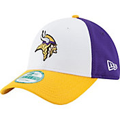 New Era Men's Minnesota Vikings Perfect Block White 9Forty Adjustable Hat