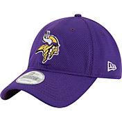 New Era Men's Minnesota Vikings Perf Shore 9Twenty Purple Adjustable Hat