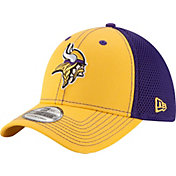 New Era Men's Minnesota Vikings Team Front Neo 39Thirty Flex Hat